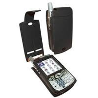 - Piel Frama 808 Black Leather Case for Palm Treo 650 with Belt Clip