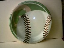 BASEBALL PAPER PLATES (1 PACK - 10 PLATES) (8-3/4 & Amazon.com: BASEBALL PAPER PLATES (1 PACK - 10 PLATES) (8-3/4 INCHES ...