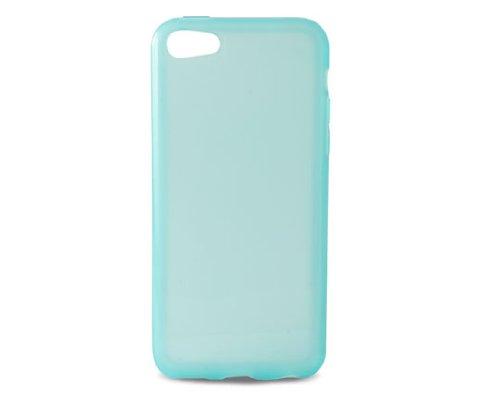 KSIX B0913FTP05 TPU Flex Cover für Apple iPhone 5C translucent/blau