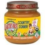 Earth's Best Harvest Squash Turkey Dinner (12x4 (Dinner Variety Pack)