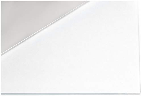 Plexiglass 12 x 12 Clear Acrylic Sheet - 1/4