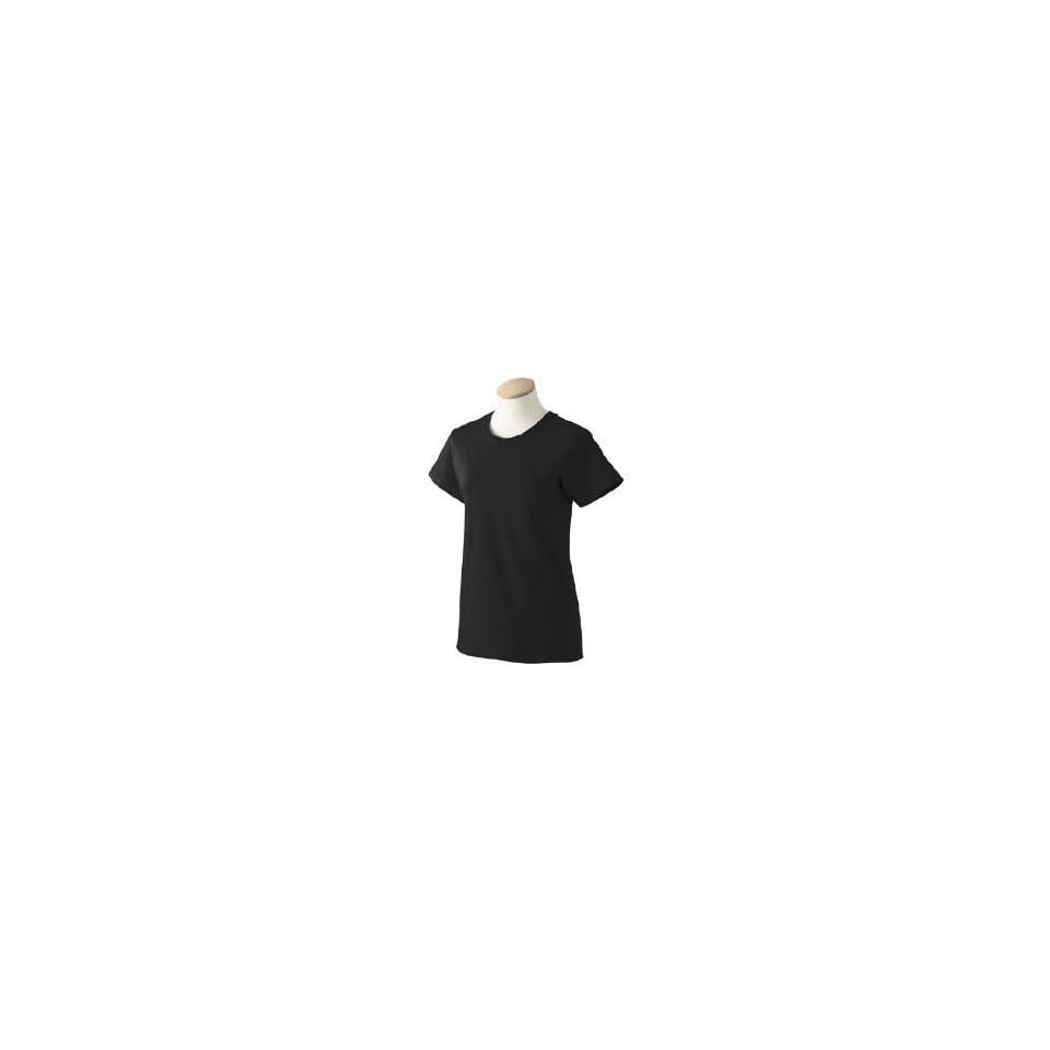 Gildan 2000L Ultra Cotton Ladies T Shirt in Black in Medium [Apparel] [Apparel]