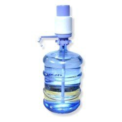 Aketek Drinking Water Hand Press Pump for Bottled Water Dispenser 5-6 Gal Home Office