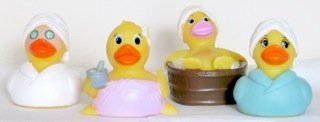 DUCKY CITY Rubber Duck Assortment - Spa Collection [4]