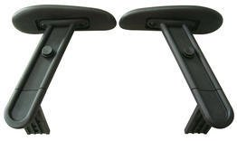 Office Star Adjustable Arms in Black (Fits Chair 13-37N20D Only)