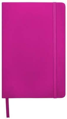 Pack de unidades x Libreta A5 (Rosa, sin impresión): Amazon.es ...