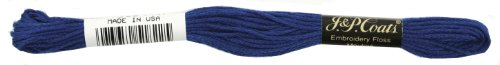 C&C 6-Strand Embroidery Floss 8.75yd-Royal Blue Dark for sale  Delivered anywhere in USA