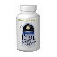 Source Naturals Coral Calcium/Magnesium 2:1 Ratio Tablets