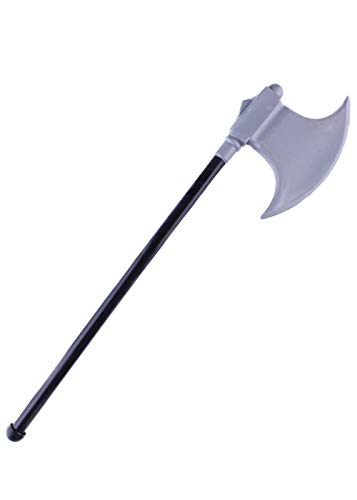 Halloween Carnival CostumesSingle Sided Axe Toy, Devil Pirate Plastic Weapons Party Cosplay Props