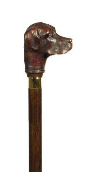 英国製アニマルヘッド一本杖/ラブラドールレトリバー4004K B00BLKTG94