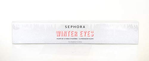 Sephora Winter Eyes 16 Eyeshadow Palette 2019 Holiday (Best Eyeshadow Palette 2019)