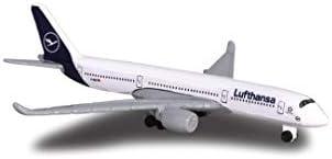 Majorette Creatix Lufthansa Airport, XXL Flughafen Spielzeugset, inkl. Flugzeug und Fahrzeugen, 3 Etagen, Aufzug, Tower mit Licht und Sound