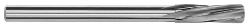 Magafor Solid Carbide High Precision Miniature Reamer, Spiral Flute, Round Shank, 7.34mm (Pack of 1)