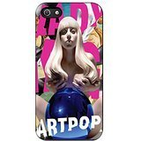 Lady Gaga Artpop iPhone 5 Case / iPhone 5s Case (Black Plastic)
