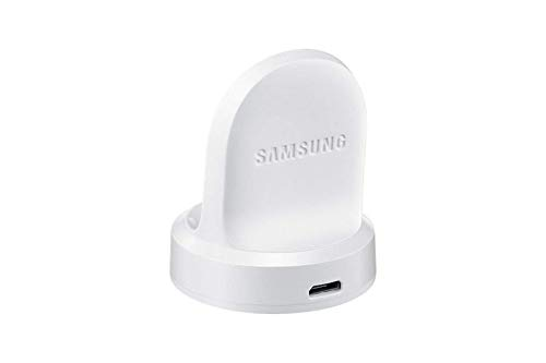 (Genuine Samsung Wireless Charger Bulk for Gear S2 & Classic SM-R720 Charging Dock with Micro USB Cable (White) (Renewed))