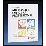 A Guide to Microsoft Office Xp Professional for Windows, Presley, Bruce, 1580030459