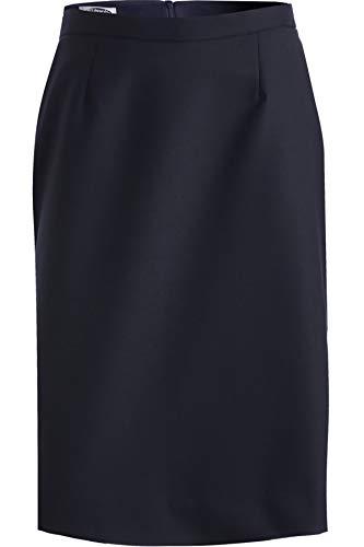 Edwards Women's Wool Blend Straight Skirt, Navy, 0 (Straight Skirt Wool)