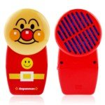 Anpanman Shaped Portable Mini Air-condition Handy Cooler (Red)