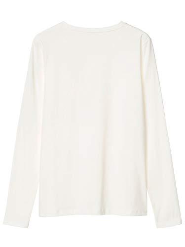 Bianco Bianco Donna 18034203401113 GANT Maglia Cotone qHITaSx5w