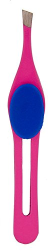 Pro-Eye Brow Tweezers w/ Easy Grip (Pink) - - Pakistan W