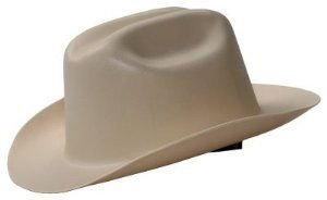 Jackson 19502 WESTERN OUTLAW Hard Hat,Tan,1/EA -