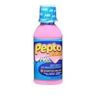 (Pepto-Bismol Pepto-Bismol Maximum Strength Liquid Upset Stomach Reliever Antidiarrheal, 4 oz (Pack of 2))