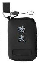 Handytasche oder MP3-Player Tasche aus Neopren, Motiv Kung Fu