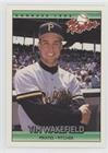 Tim Wakefield Rookie Card - Tim Wakefield (Baseball Card) 1992 Donruss The Rookies - [Base] #121