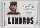 Eric Lindros #/99 (Hockey Card) 2013-14 Panini National Treasures - Timeline Jersey #T-EL -