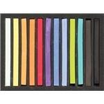 Jack Richeson 427336 Signature Assorted Hard square Pastels (Set of 36) (Pastel Semi Hard)