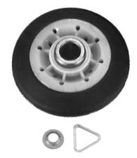 349241 DRYER DRUM ROLLER SET, 2 PIECES For Whirlpool, Roper, ()