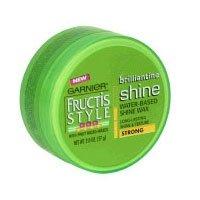 (Garnier Fructis Style Brilliantine Water-Based Shine Wax, Strong - 2 Oz )