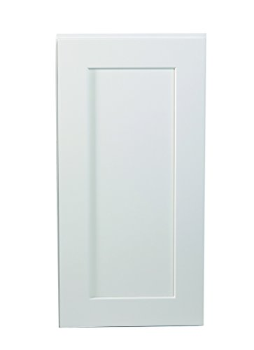 Design House 561548 Brookings 15-Inch Wall Cabinet, White Shaker