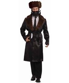 Men's Rabbi Costume - ST Black]()