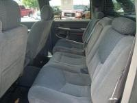 3rd Seat Chevy Suburban (Durafit Seat Covers, 2003-2007 Chevy Avalanche Rear 60/40 Split Seat With Integrated 3rd Seat Belt and Armrest With Cup Holders. Made in Gray Velour)