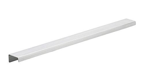 Richelieu Hardware - BP57616170 - Contemporary Stainless Steel Edge Pull - 576 - 14 in - Stainless Steel  Finish
