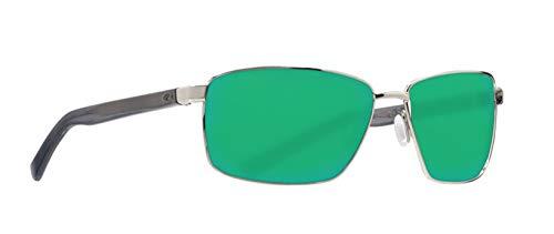 Costa Del Mar Men's Ponce Rectangular Sunglasses