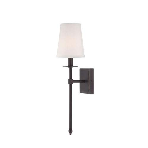251 First Linden Bronze Five-Inch One-Light Wall - Light Sconce 1 Linden