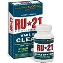 Ru-21 Alcohol Metabolism Supplement - 20 Tablets by Spirit Science