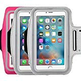Water Resistant Sports running Armband,3Pack CaseHQ sporty sweat proof Arm Bag armband case with Key Holder for iPhone 7 7plus 6 Plus 6S Plus,Samsung Galaxy S6/S5, Note 4 Bundle with ()