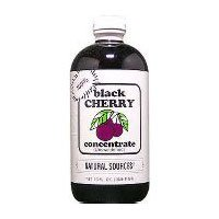 Natural Sources Black Cherry Concentrate, 16 Ounce - 3 per case. ()
