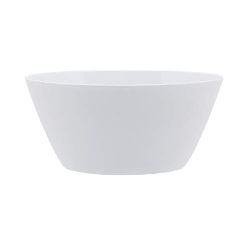 Zak Designs 1313-1588 Just life Soup Bowls, 27 oz, Eggshell White
