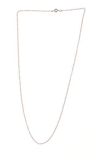 Collier - NKG-K10630 - Femme - Or Rose 375/1000 (9 Cts) 0.86 Gr