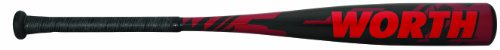 Prodigy Baseball Bat (Worth Baseball 2012 Lithium Prodigy Legit Bat (28-Inch/18-Ounce))
