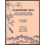 Taxonomic Keys to the Common Animals of the North Central States, Eddy, Samuel K., 0808722107