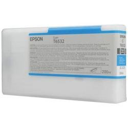 Epson UltraChrome HDR Ink Cartridge - 200ml Cyan (T653200)