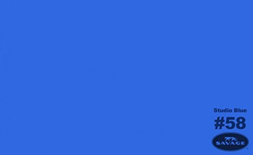 Savage Seamless Background Paper - #58 Studio Blue (107 in x 36 ft)