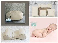 STARTER SET #7 ~ Travel size poser, Squishy poser and set of 5 Posey Positioners ~ NEWBORN PHOTO PROP by Posey Pillow