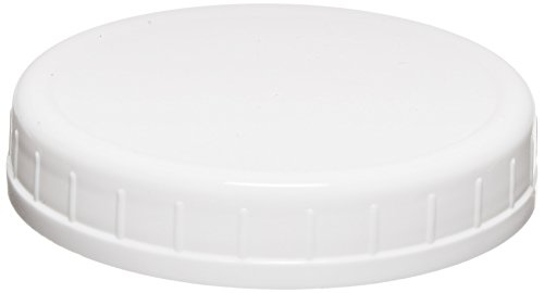 Mason Jar Caps - Ball Wide-Mouth Plastic Storage Caps, 8-Count
