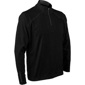 (Sun Mountain 2017 Men's Second Layer Pullover (Black,)
